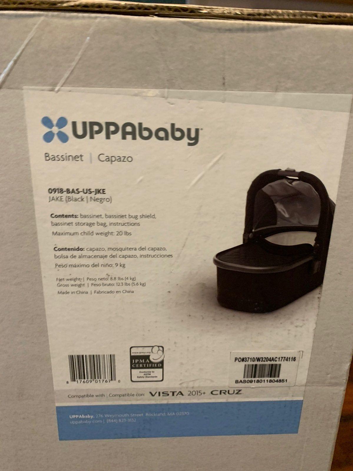 Brand new in box 2018 UPPAbaby in the JAKE (Black