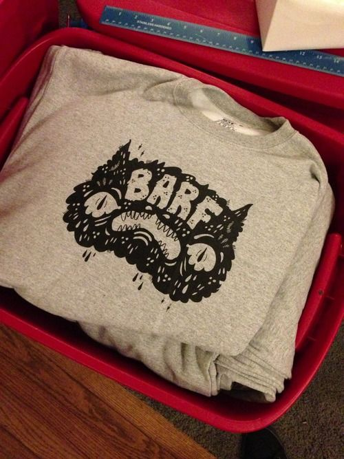 haypeep:  Return of the Barf sweatshirt....