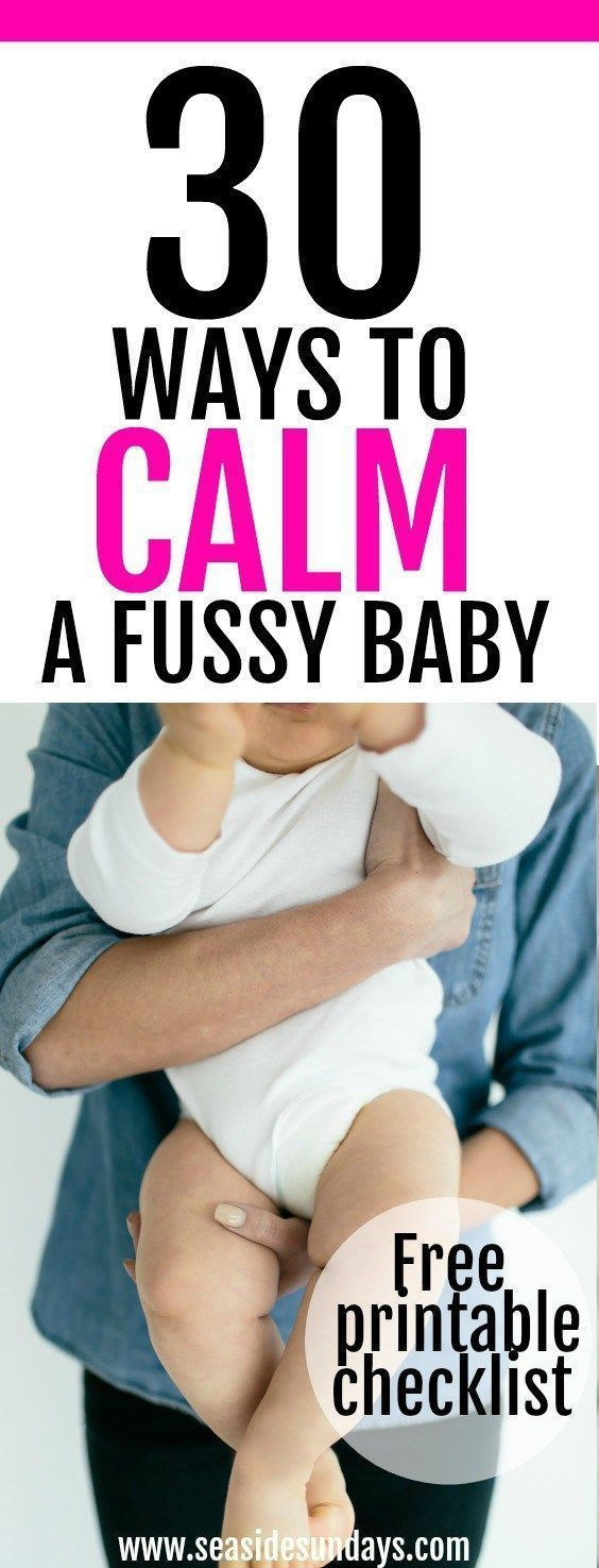 Tips and tricks for coping with colic. If you have a fussy baby who won't stop crying, try these ideas to calm baby and get some peace! These ideas are awesome for new moms and dads who have a baby that won't stop crying. Try these ideas out to stop your