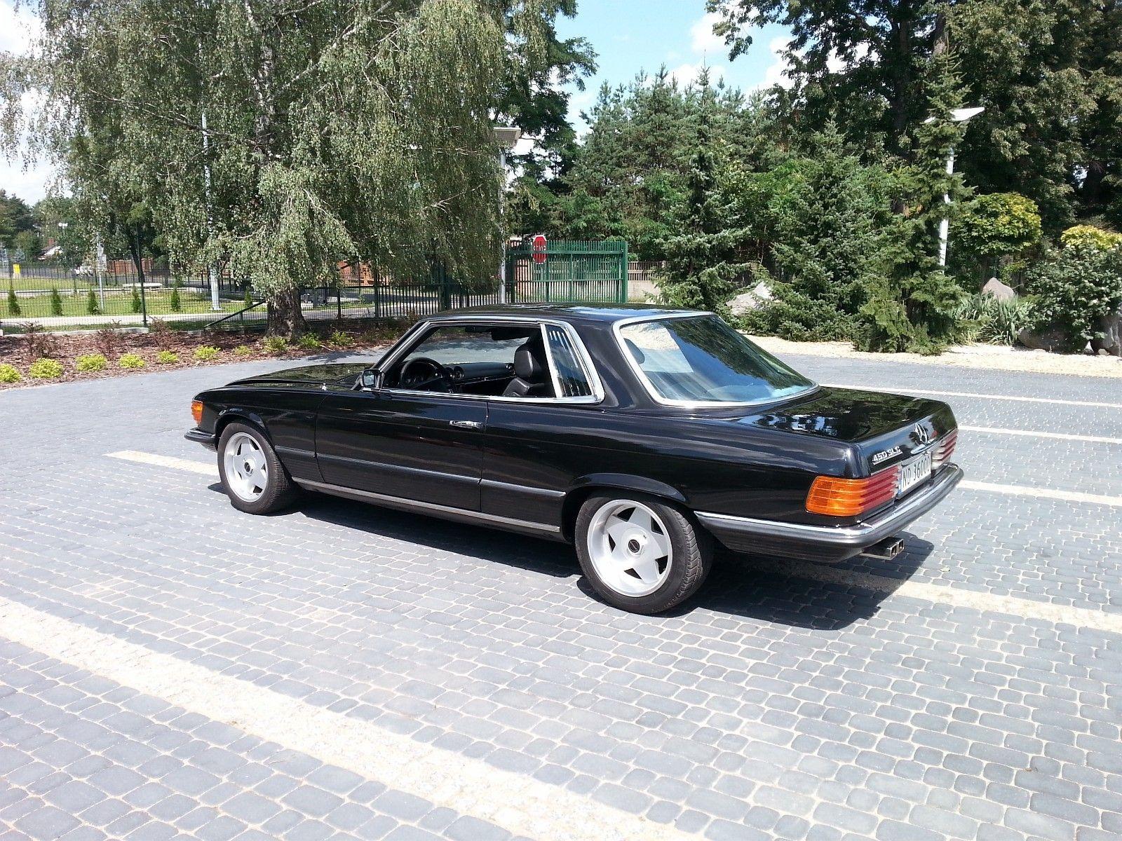 Mercedes benz slc 450 sl coupe str ken 1973 164 000 km kr 138