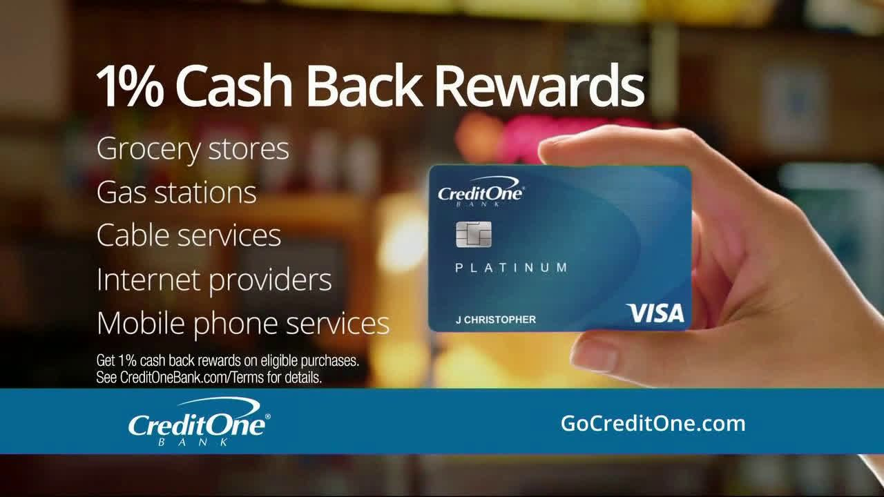 Credit One Bank Tmi At The Grocery Store Ad Commercial On Tv