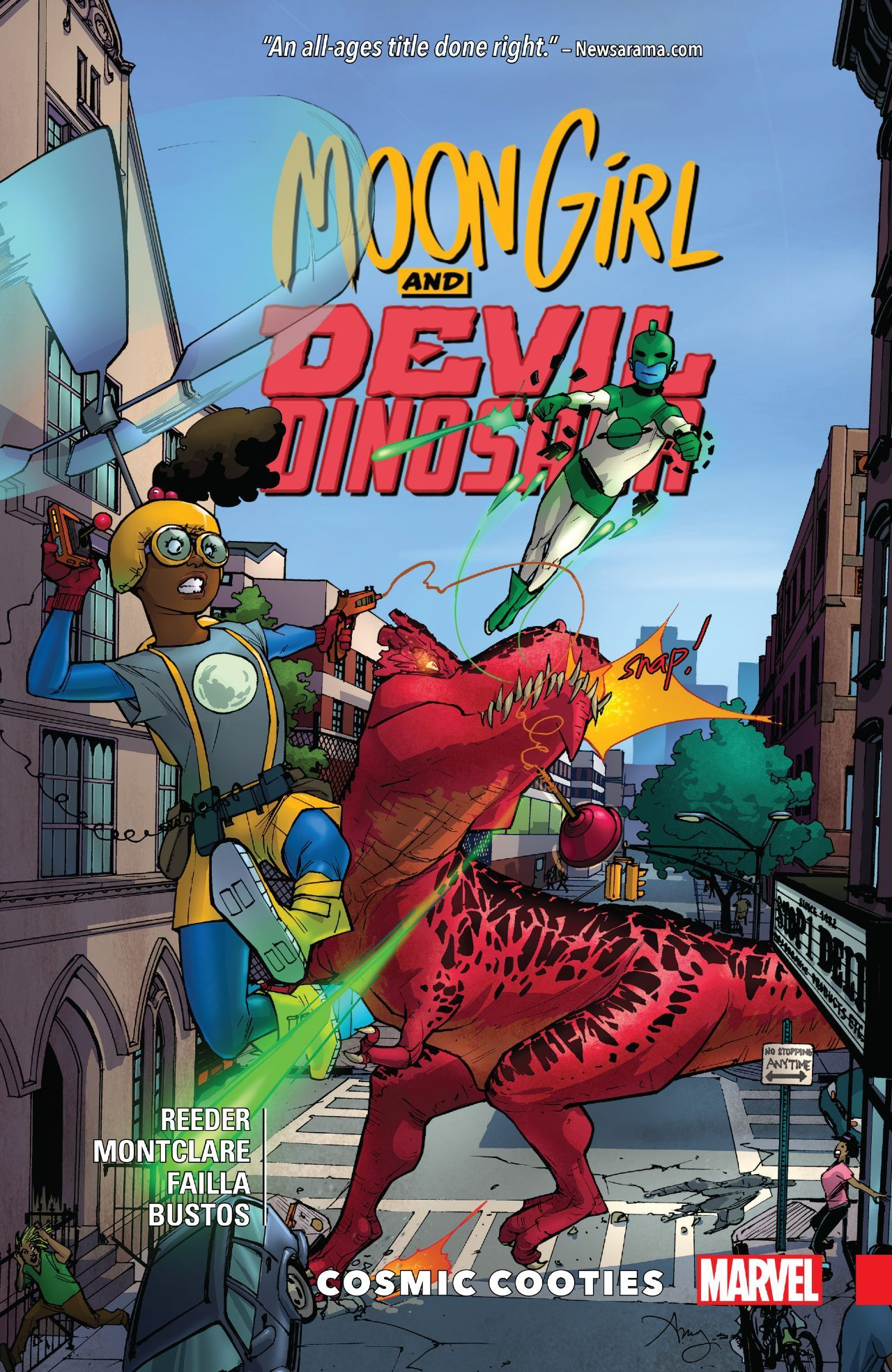Image result for Moon Girl and Devil Dinosaur v.2: Cosmic Cooties