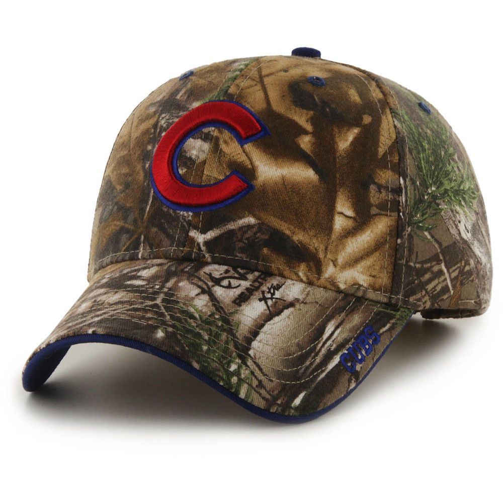 Chicago Cubs Hat MLB RealTree Camo Adjustable Strapback Team Logo Baseball  Cap  RealTree  ChicagoCubs 0c6528536f34
