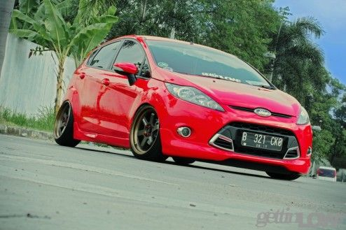 Real Red Ford Fiesta With Images Ford Fiesta Ford Fiesta