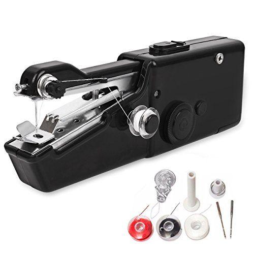 Portable Sewing Machine, Mini Cordless Handheld Electric ...