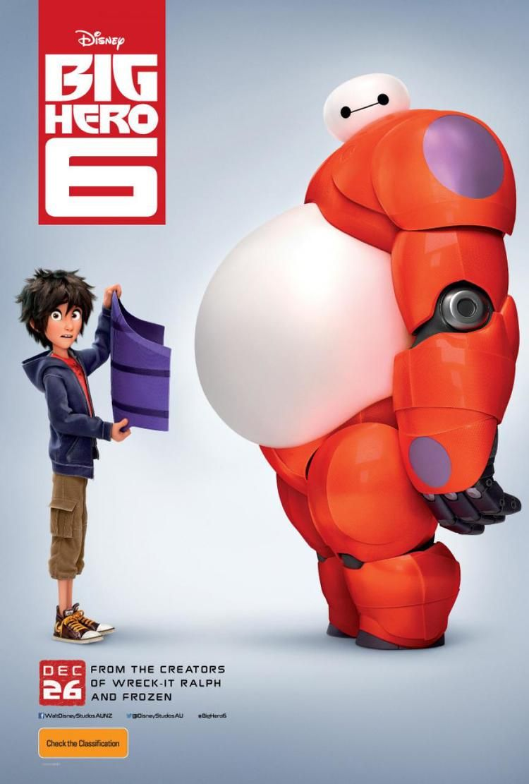 big hero 6 -- even the preview is hilarious! Can't wait!