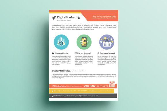marketing fliers