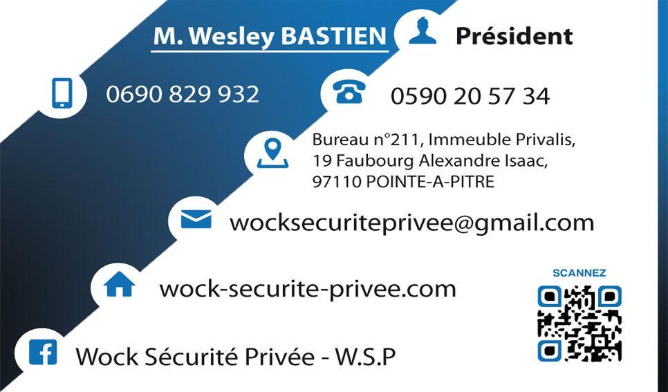 Carte De Visite Verso WSP