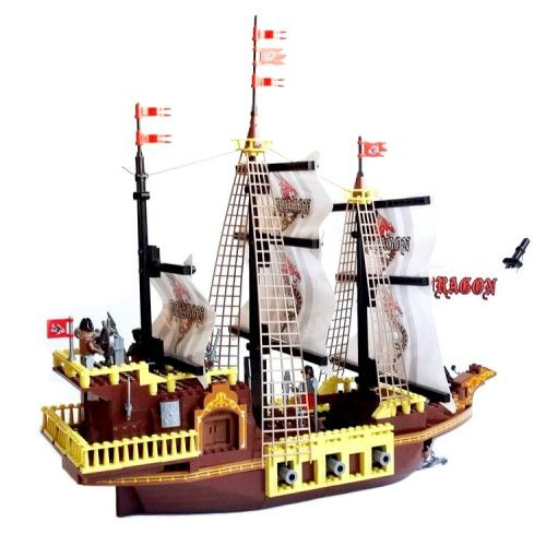 Toy Pirate Lego : Dragon pirate ship lego compatible toy cool sets