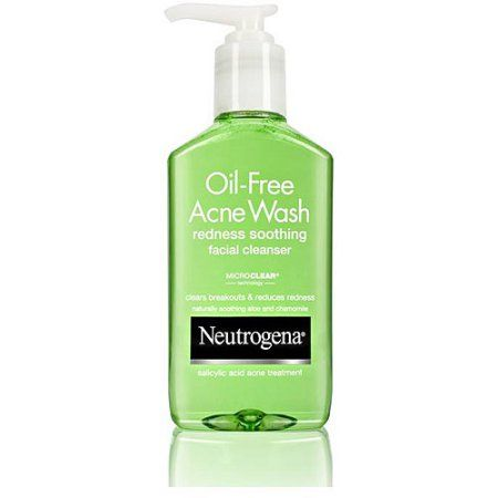 Neutrogena Oil-Free Acne Wash Redness Soothing Facial