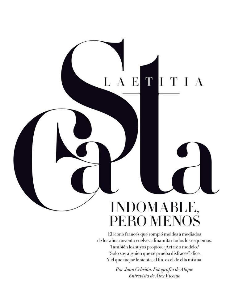 Laetitia Casta (Harper's Bazaar Spain)