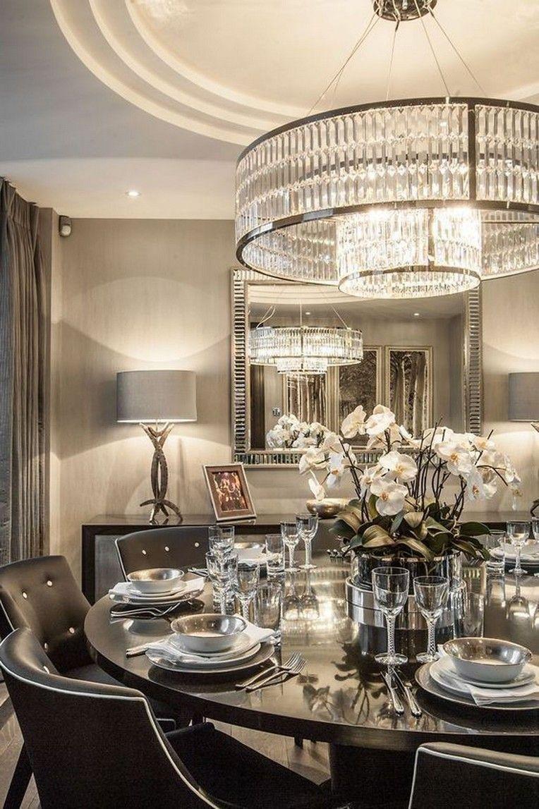 40 Classy Luxury Dining Room Design Ideas Elegant Dining Room Luxury Dining Room Farmhouse Dining Rooms Decor