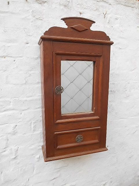 Rustic Bathroom Wall Cabinet Large Storage Cabinet In Oak Rustic Bathroom Wall Cabinet Bathroom Wall Cabinets
