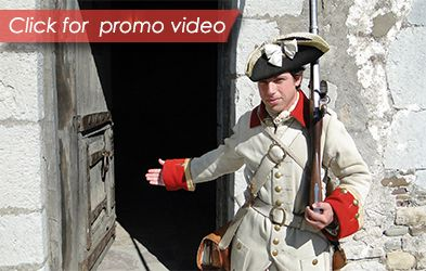 Welcome to Old Fort Niagara - Click here to watch the promo video #History #Niagara