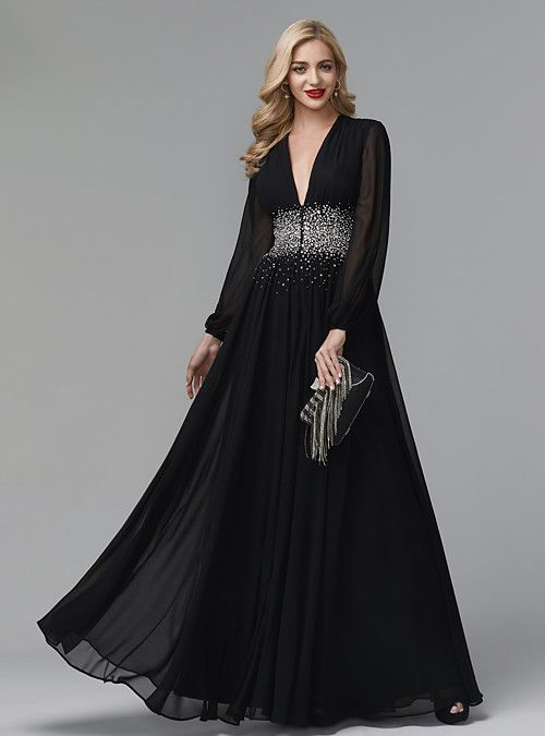 A-Line Celebrity Style Empire Wedding Guest Formal Evening ...