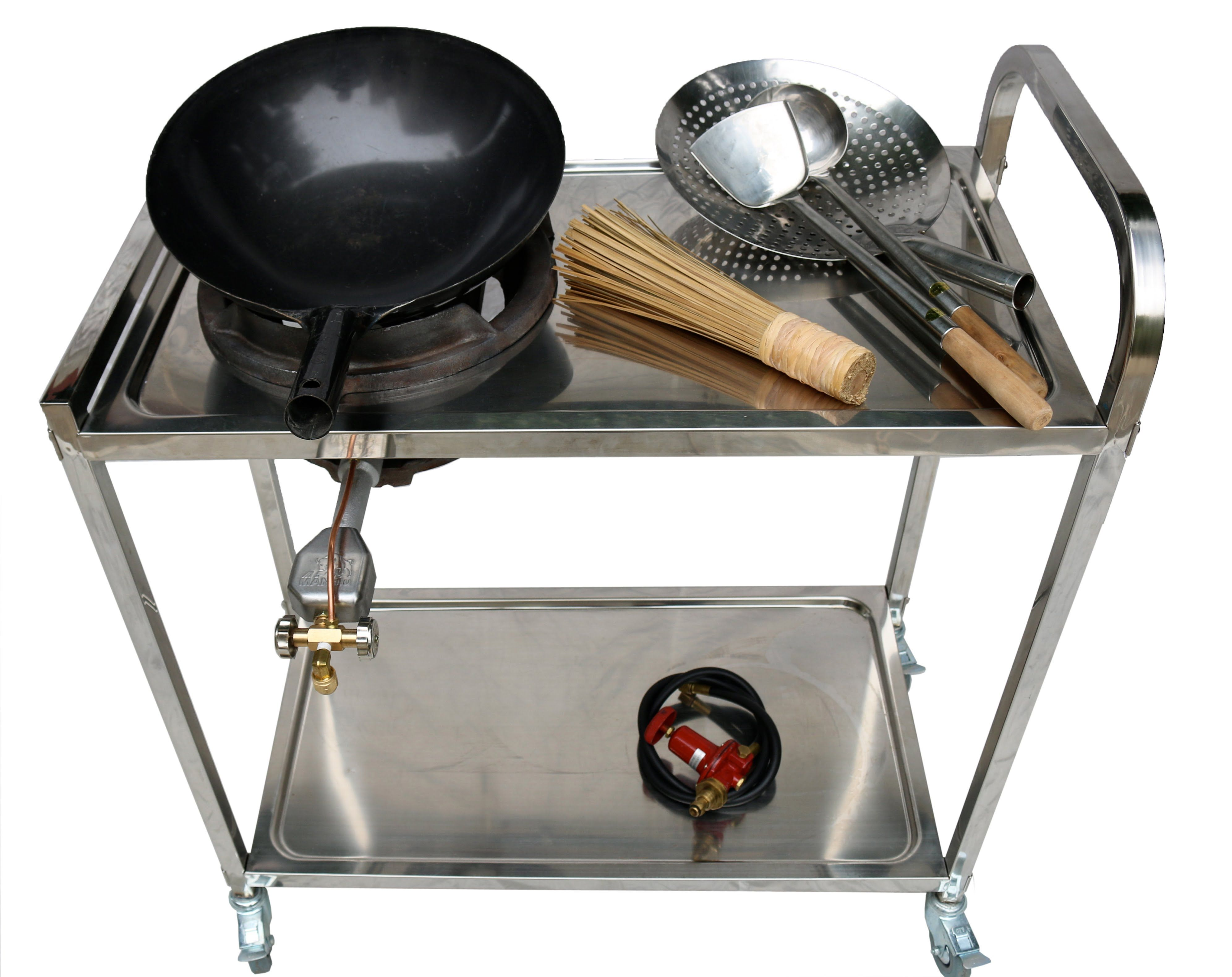 The X72 Burner System Vol 40 Outdoor Cooking Station Wok Wok Cooking