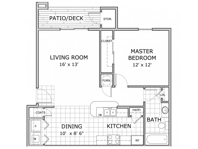 1 Bed 1 Bath Apartment In Springfield Mo Battlefield Park Apartments Bath Apartments Springfield Missouri Springfield Mo