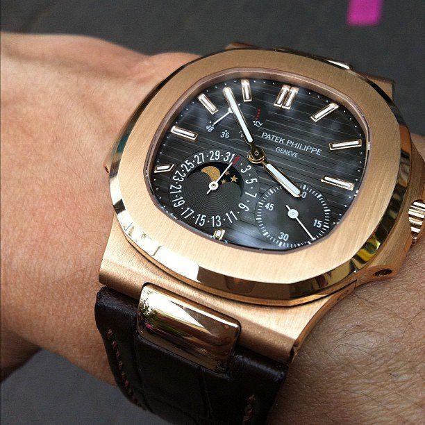 a6092ba9465 Patek Philippe Nautilus Watch Relógio Moderno