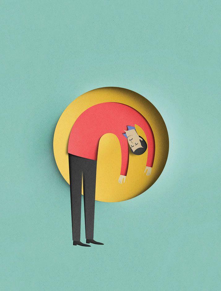 Digital Paper Cuts By Eiko Ojala | Locura, Inspiración y Arte