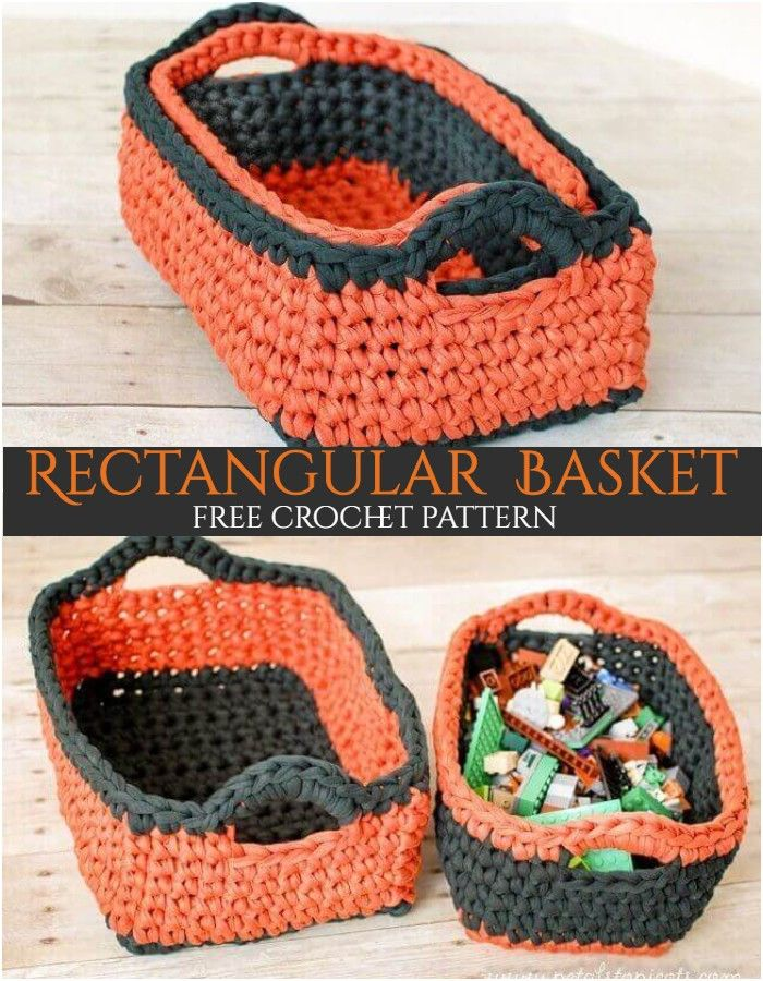 Here, I have shared a list of 10 free crochet basket patterns for your ease that will organize your all extra but important things.#freecrochetpatterns #crochebasketpatterns #crochetbowl