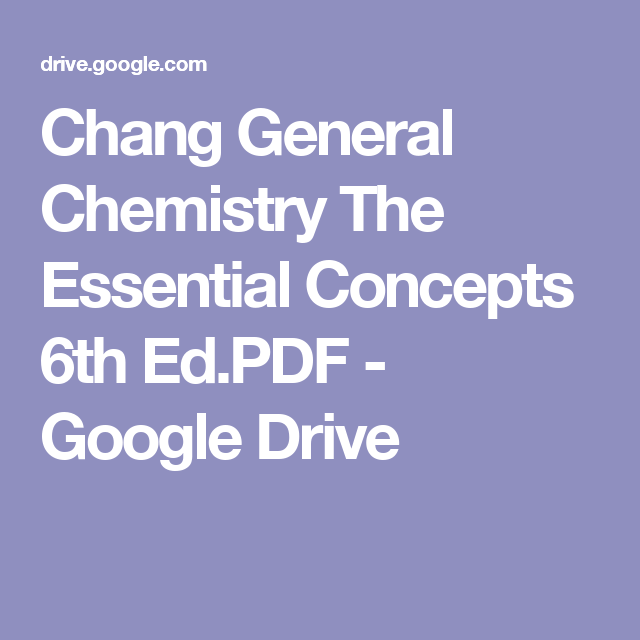 6th concepts general edition essential pdf the chemistry