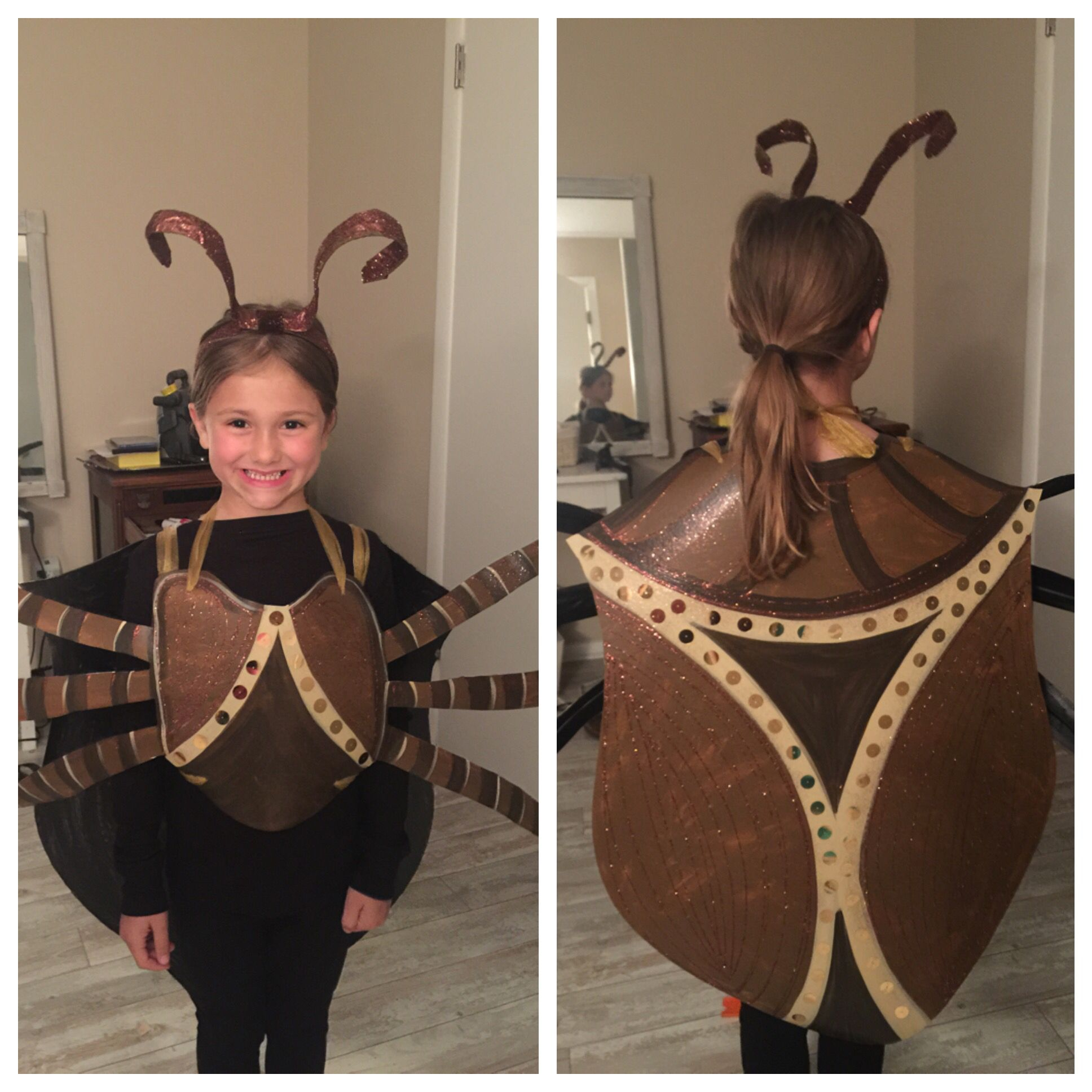 Stink Bug Costume for Girls! Halloween costumes for kids