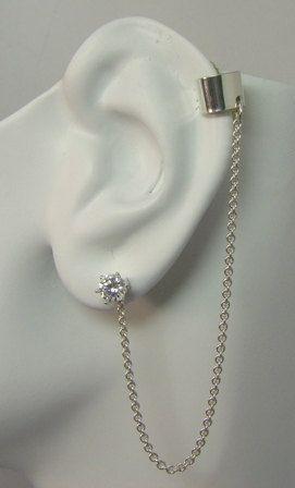 mini ear cuff bajoran jewelry no piercing cuff piercing