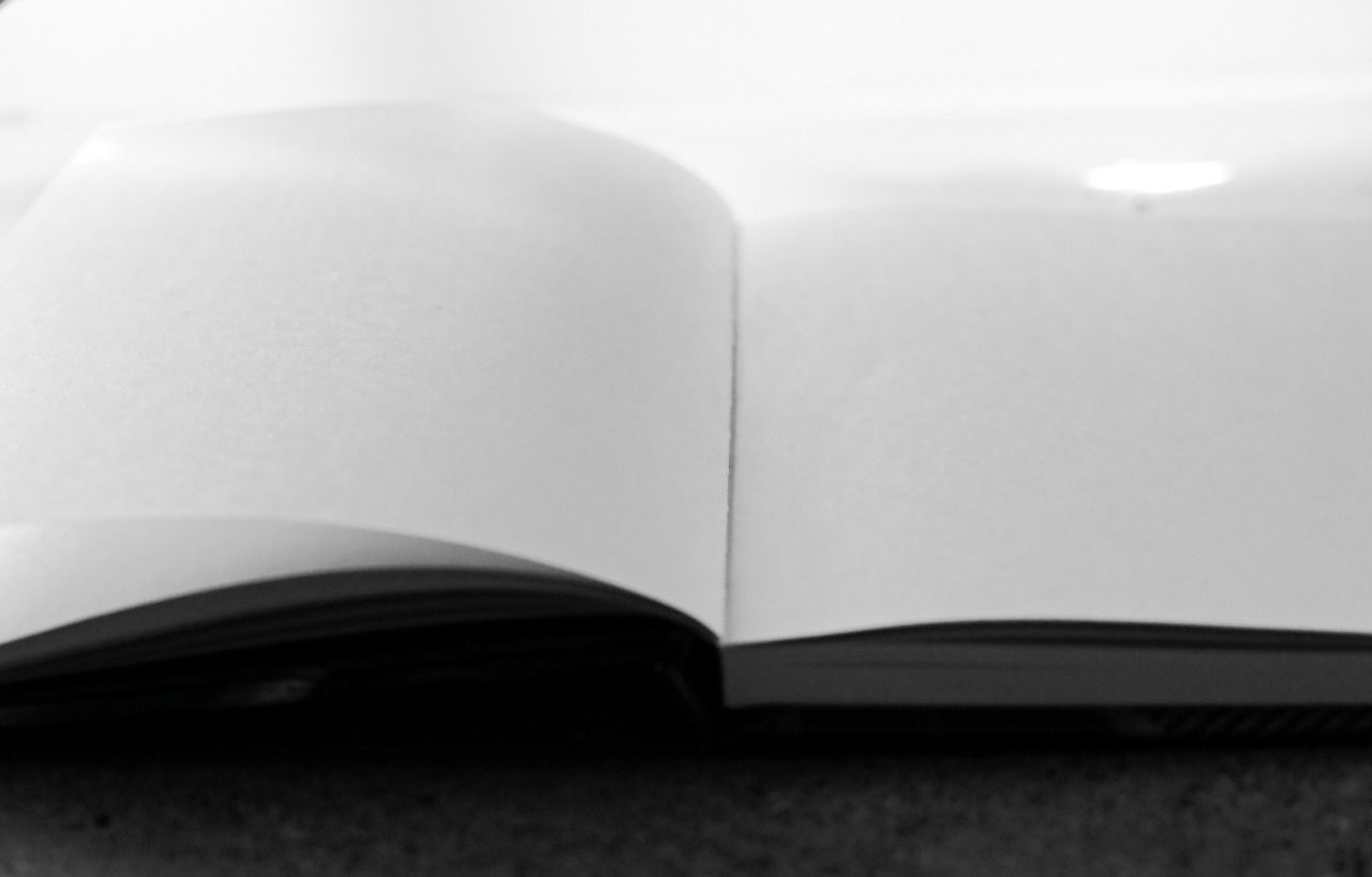 "Notebook in Black and White - Version One If you prefer a slightly different version with a pencil, try version 2. See under 'Books & Art'. ""This photo is free to keep and use. Come visit us for even more free photos at..."