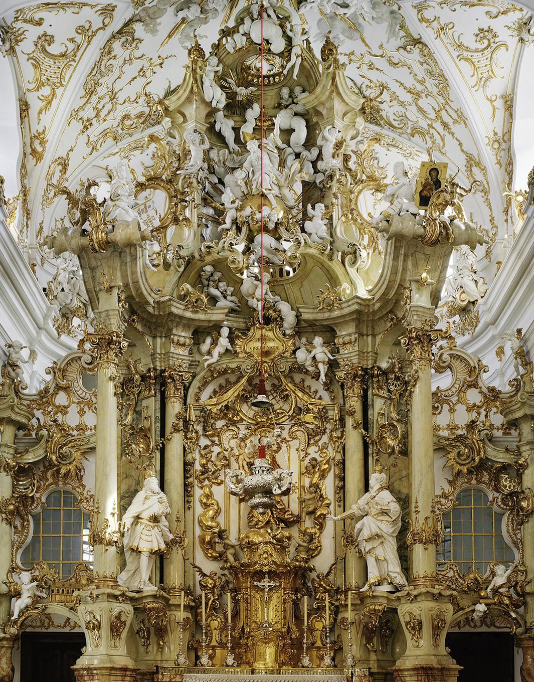 """Looking at the gorgeous, dramatic images of Baroque churches in Cyril Porchet's series, """"Seduction,"""" you might mistake the photographer for a religious..."""