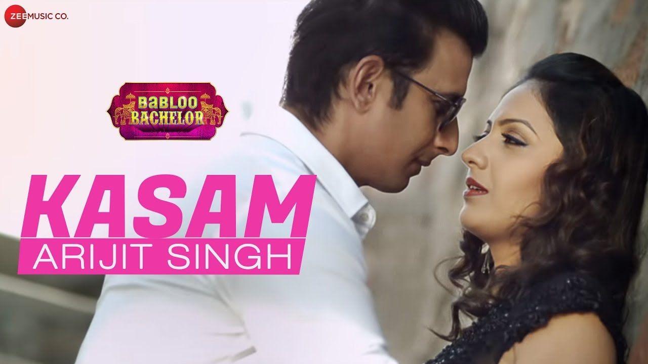 Kasam Lyrics Babloo Bachelor 2020 In 2020 Songs Lyrics Mp3 Song