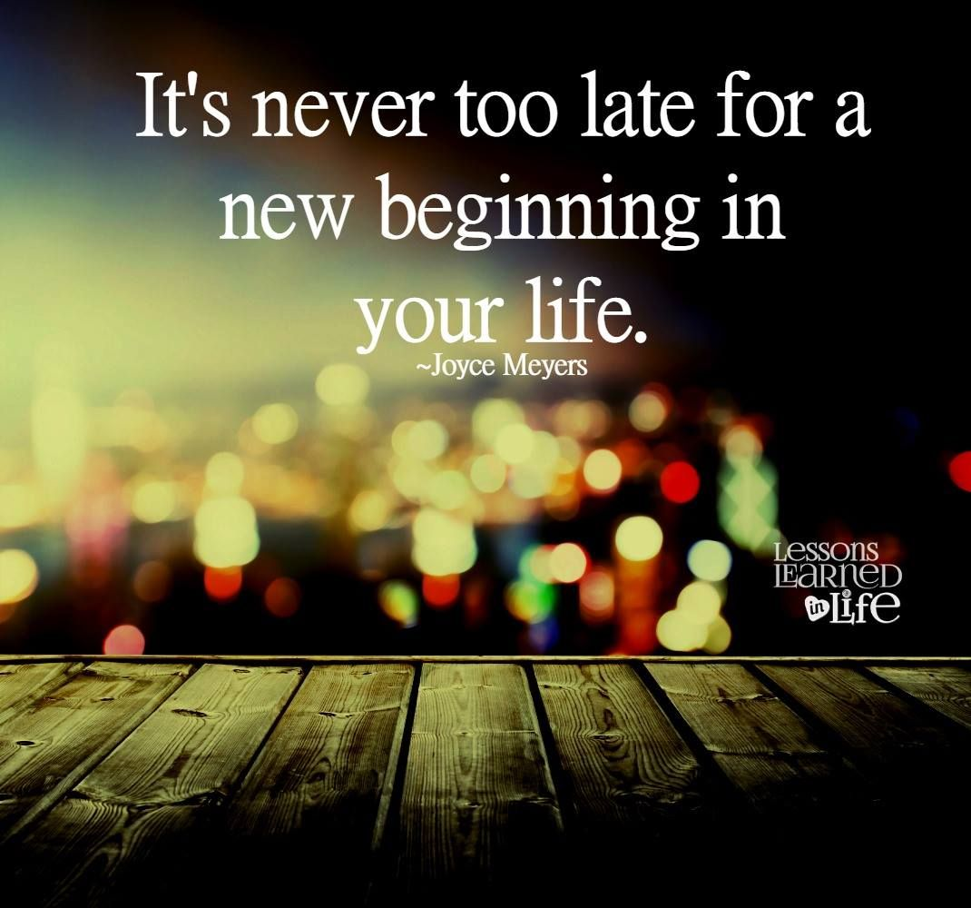 Every Day Is A Chance For A New Beginning Recovery Rr