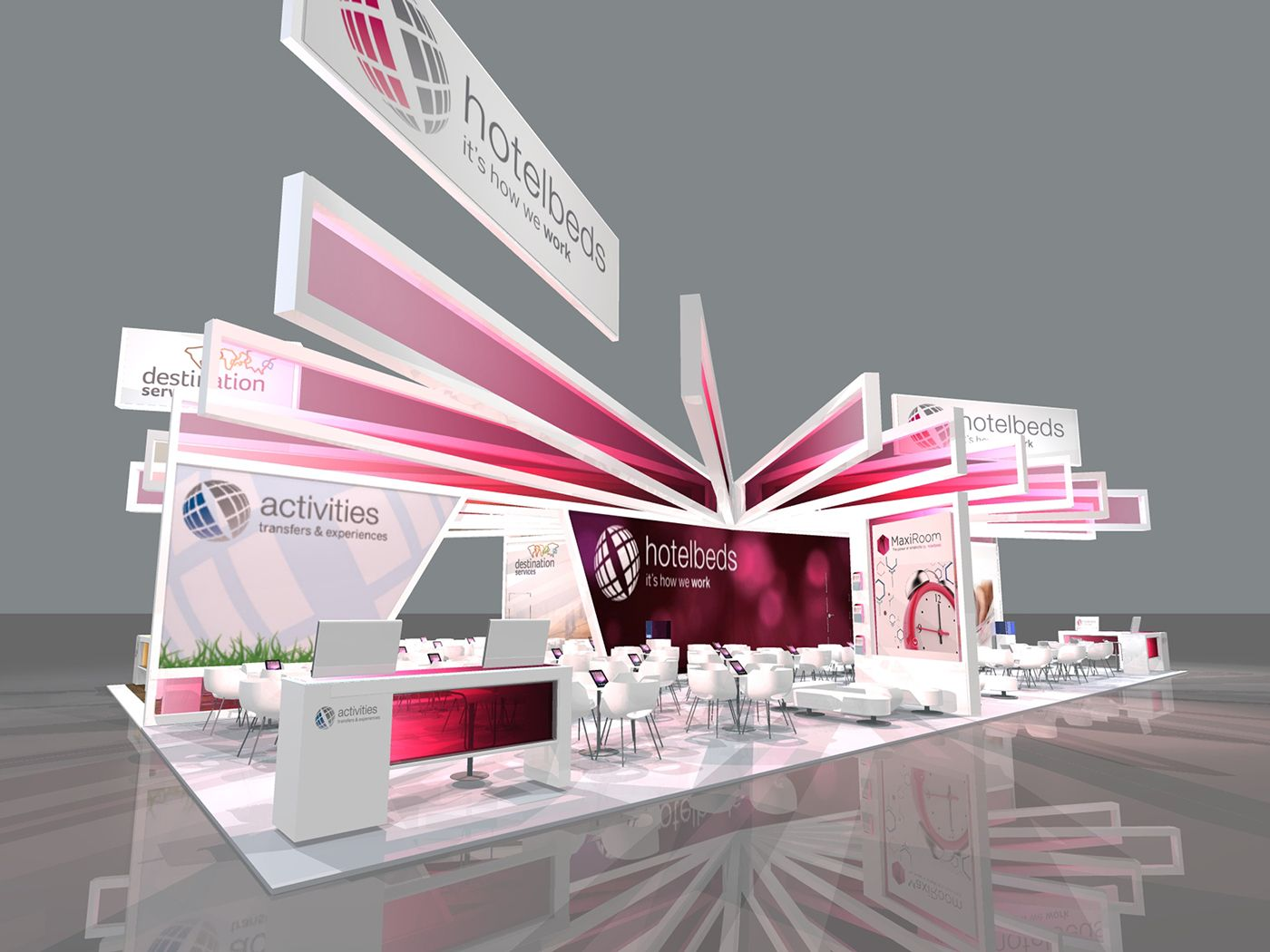 Exhibition Stall Sketch : Scamps and sketches on behance structure exhibition booth