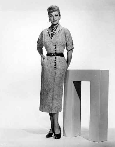 Tailored and Stylish! | Lucille Ball in the 1950's | Flickr