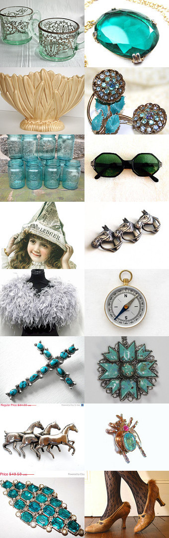 VINTAGE VOGUE CALM AND RELAXED by Miss Linda on Etsy, www.PeriodElegance.etsy.com