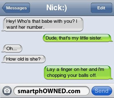 I Like Your Sis Funny Texts Funny Texts Jokes Funny Text Messages