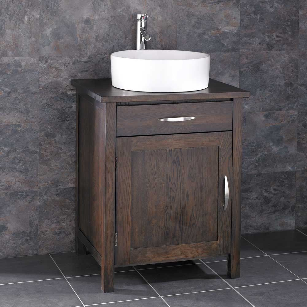 Solid WENGE Dark Oak Single Door Bathroom Cabinet Ohio Style Solution Make  Sure You Pick This Product Up Today U2013 Comes With The Tap, Basin, Waste And  Hose