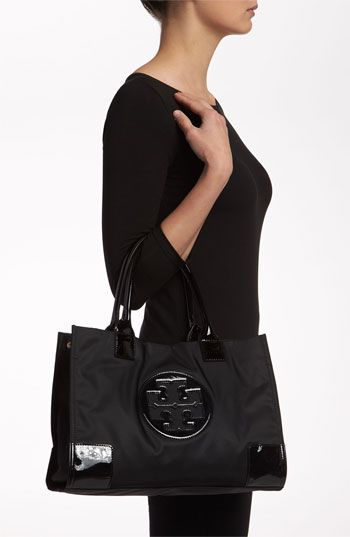 18233e9bb398 Tory Burch  Ella - Mini  Nylon Tote - perfect for shopping and days in the  city!