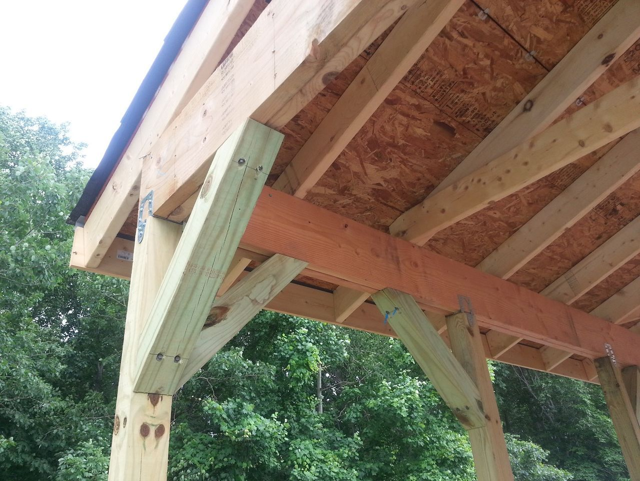 Pin By Jim Barrett On Carport Deck Outdoor Structures