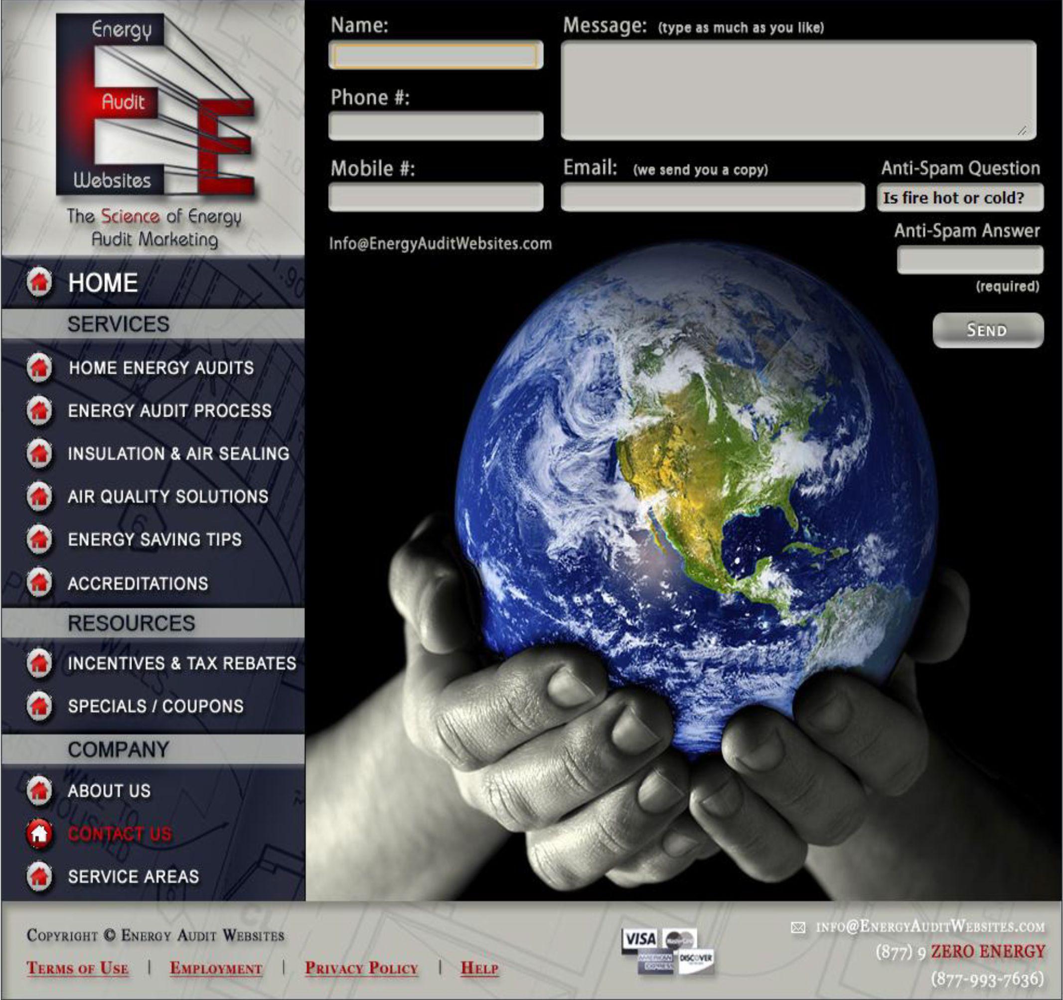 Energy Saving Tips And Tools Energy Audit Websites Energyauditwebsites Com Energy Audit Contact Energy Energy