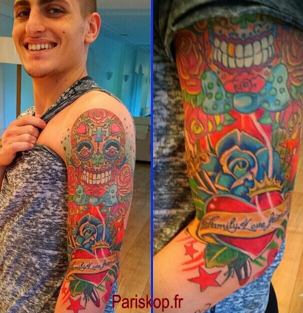 marco verratti | football | tattoos, saint germain, paris saint