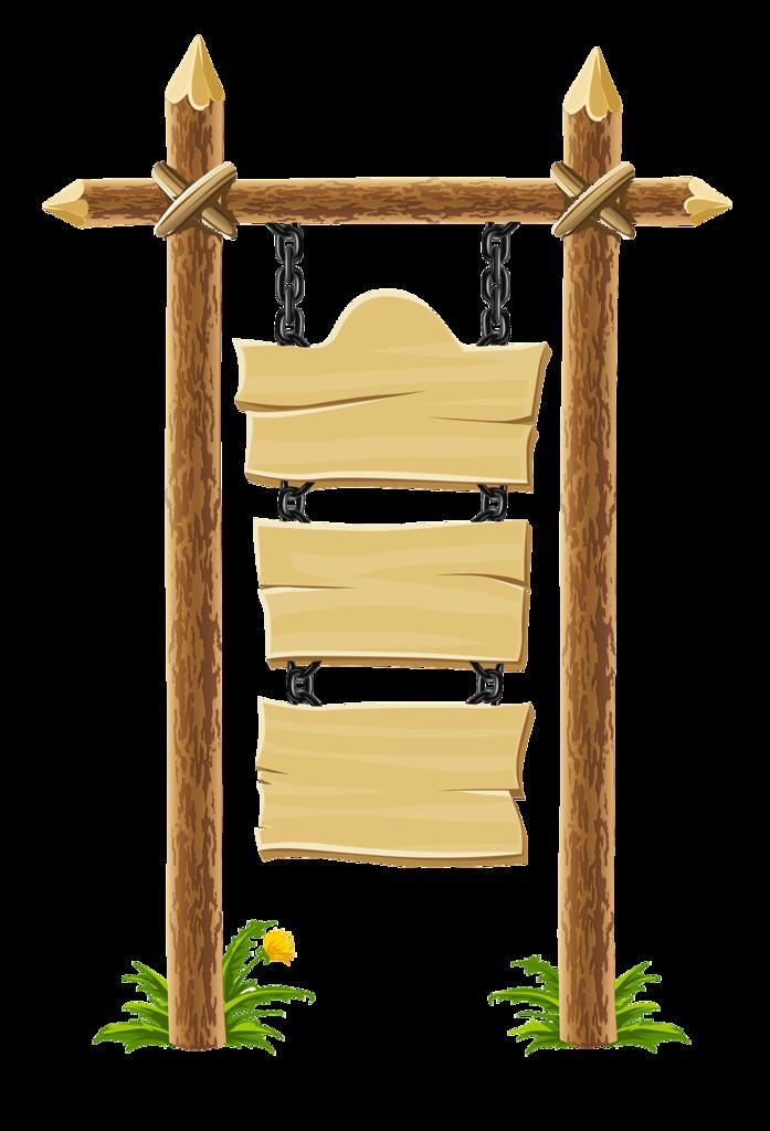 Таблички деревянные