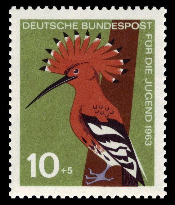 Alemania 1963-Pájaro Carpintero
