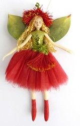 2013 Nz Pohutukawa Flower Fairy Fairy Pohutukawa Flower Dolls Lovely Doll Shopenzed Com Christmas Fairy Nz Gift Fairy Decor