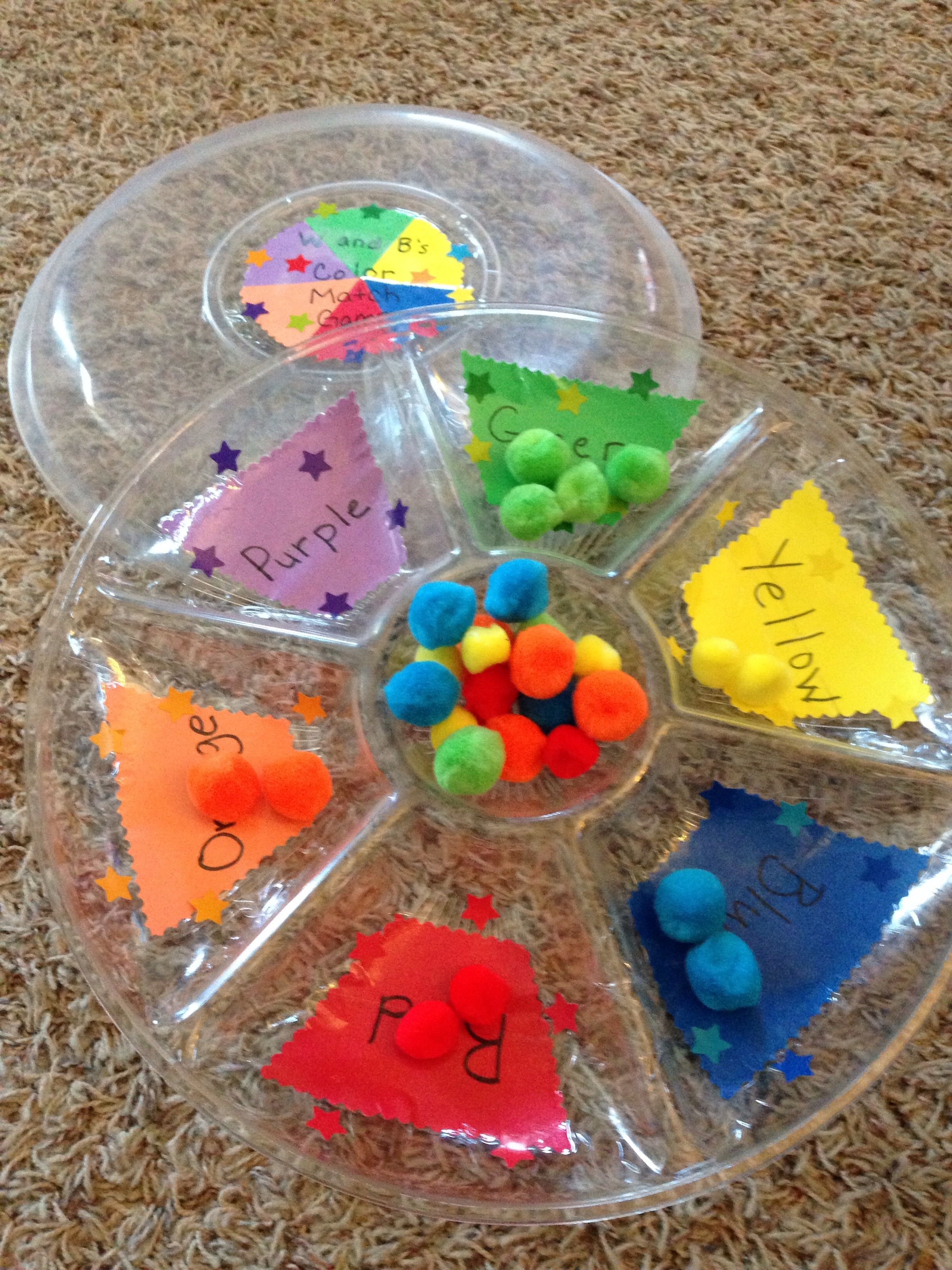 39++ Color matching game for preschoolers ideas