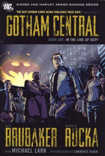 Gotham Central, Book 1: In the Line of Duty by Greg Rucka http://www.amazon.com/dp/1401220371/ref=cm_sw_r_pi_dp_JvUUtb1BTNM64ENC