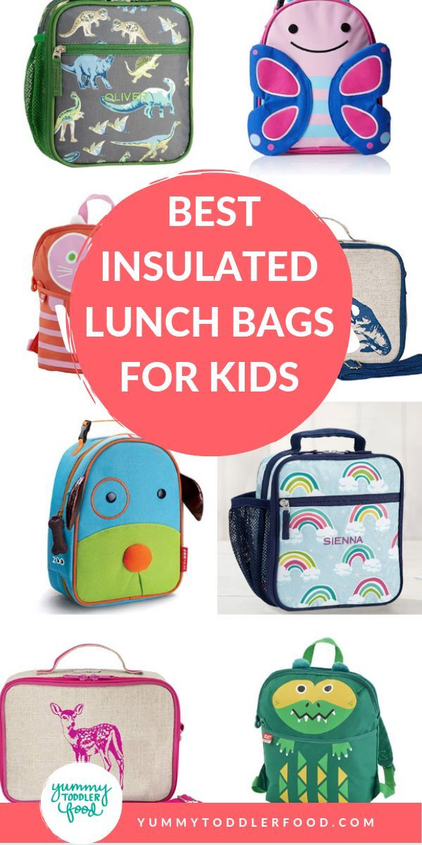 Best Insulated Lunch Bags For Kids Best Yummy Toddler Food
