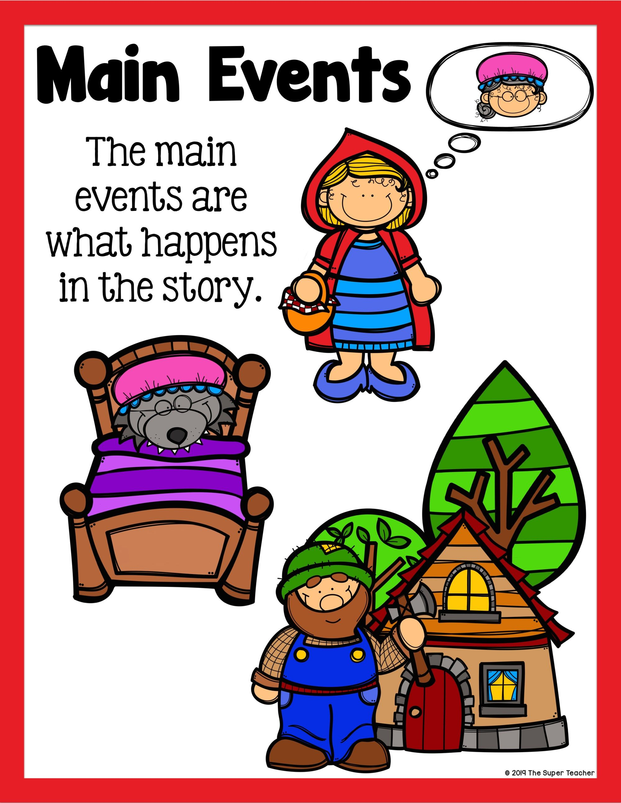 Little Red Riding Hood Story Elements And Story Retelling