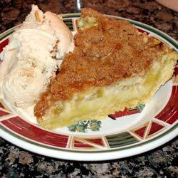 Sour Cream Rhubarb Pie Recipe Rhubarb Recipes Rhubarb Recipes Pie Recipes