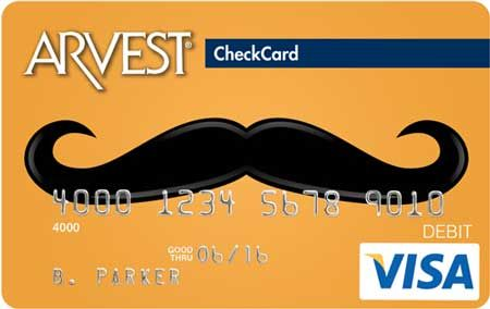Mr  - 078 Arvest Debit Card Design  You can order yours today by