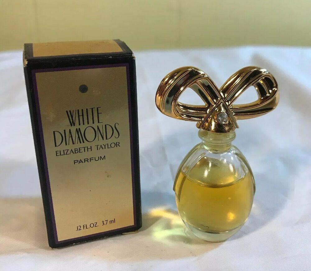 White Diamonds By Elizabeth Taylor Parfum Perfume Mini Travel 12 Fl Oz 3 7ml Elizabethtaylor White Diamonds Perfume Diamond White Perfume